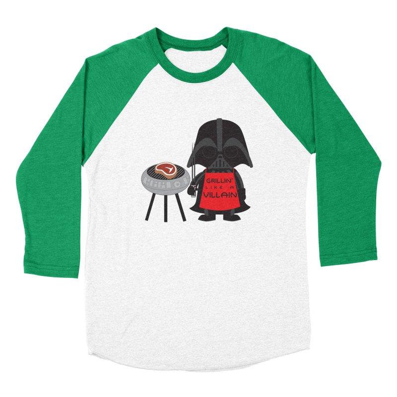 Death Star BBQ Women's Baseball Triblend Longsleeve T-Shirt by LLUMA Creative Design