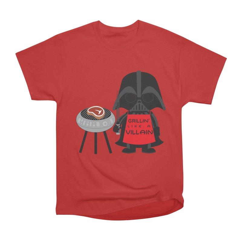 Death Star BBQ Men's Heavyweight T-Shirt by LLUMA Creative Design