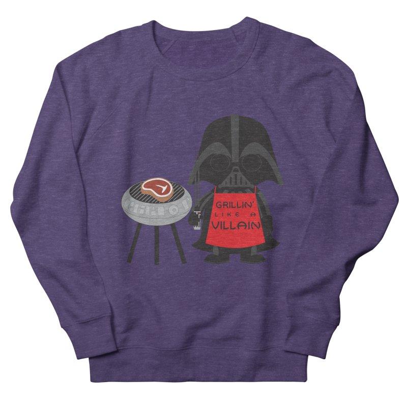 Death Star BBQ Women's French Terry Sweatshirt by LLUMA Creative Design