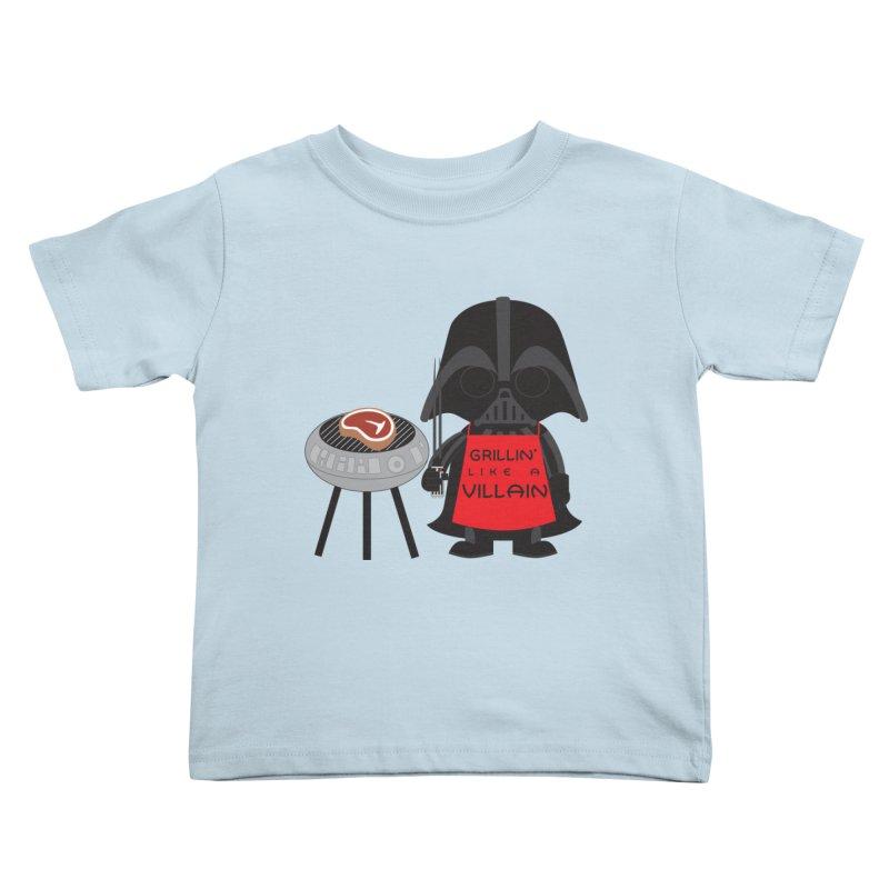 Death Star BBQ Kids Toddler T-Shirt by LLUMA Creative Design