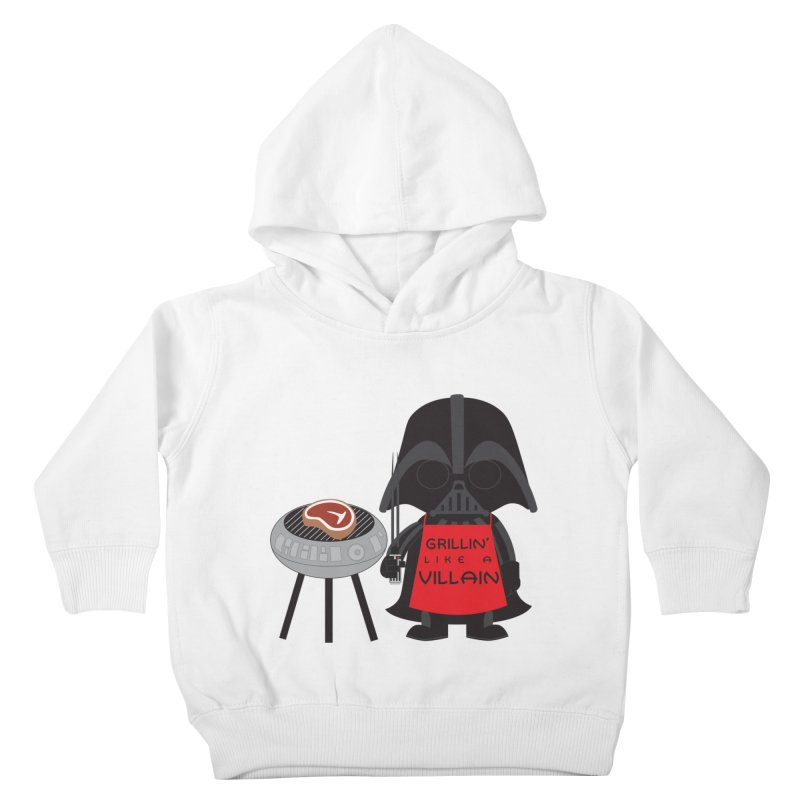 Death Star BBQ Kids Toddler Pullover Hoody by LLUMA Creative Design
