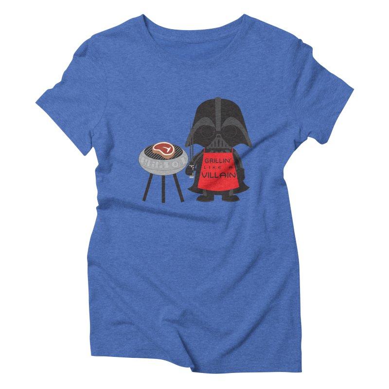 Death Star BBQ Women's Triblend T-Shirt by LLUMA Creative Design