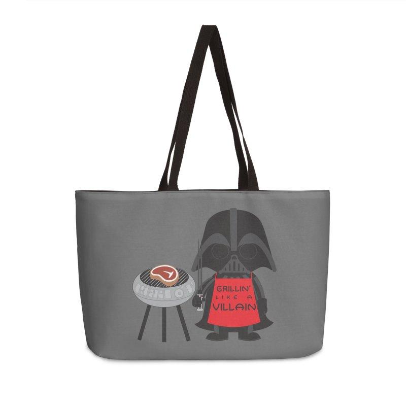 Death Star BBQ Accessories Weekender Bag Bag by LLUMA Creative Design