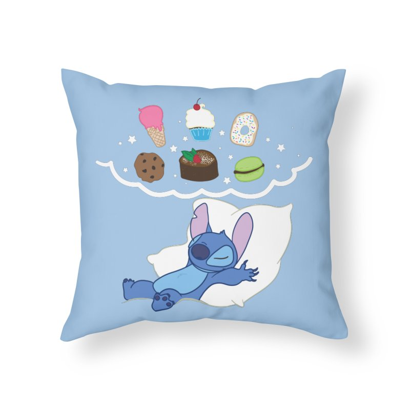 We Need Desserts!  Home Throw Pillow by LLUMA Design