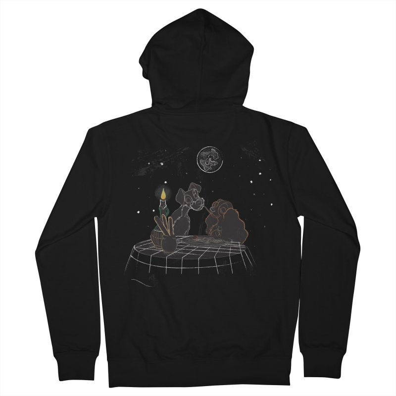 Spaghetti For Two Men's Zip-Up Hoody by LLUMA Design