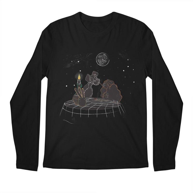 Spaghetti For Two Men's Longsleeve T-Shirt by LLUMA Design