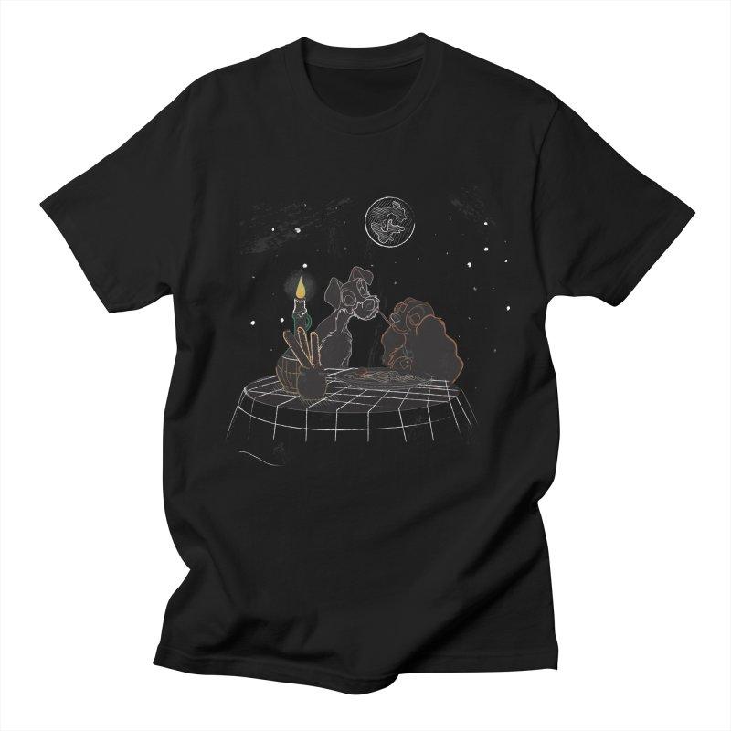 Spaghetti For Two Men's T-Shirt by LLUMA Design
