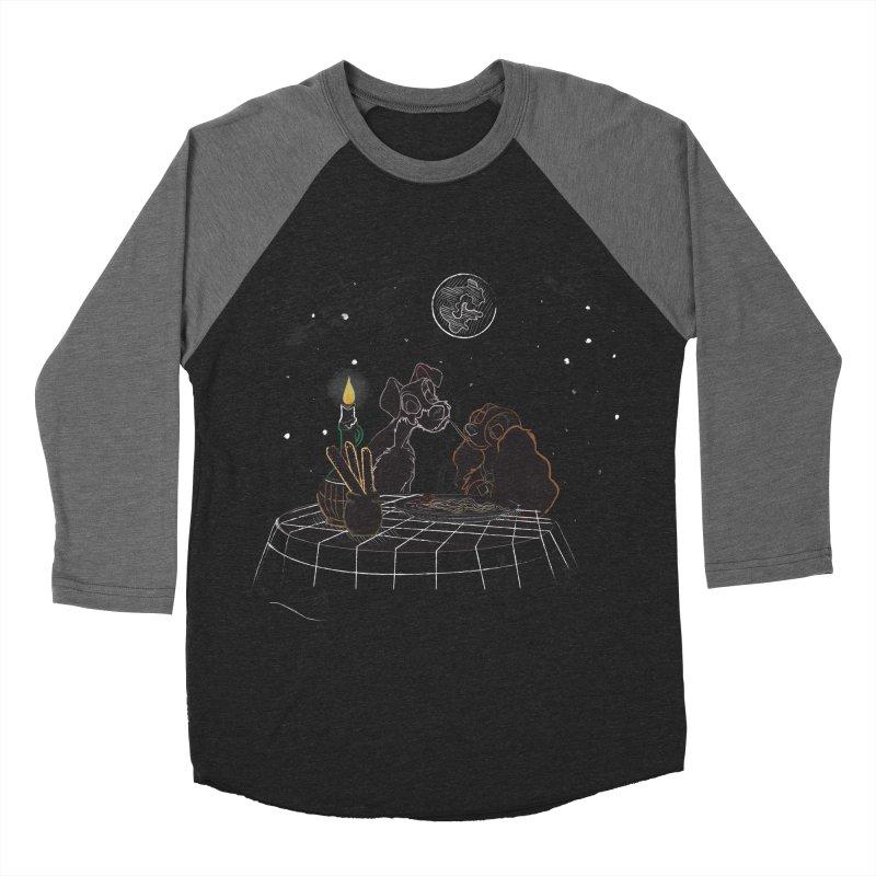 Spaghetti For Two Men's Baseball Triblend T-Shirt by LLUMA Design