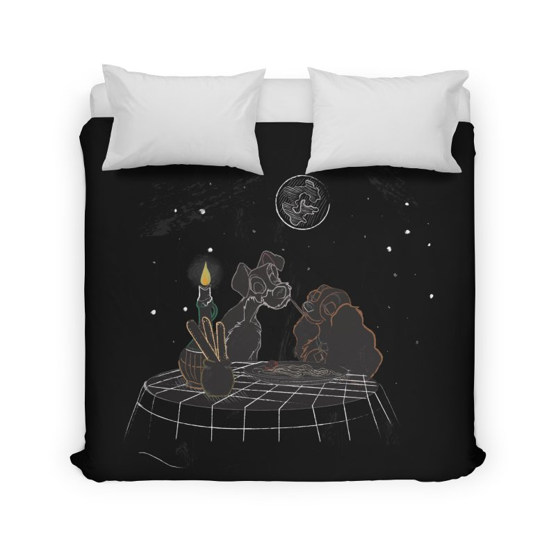 Spaghetti For Two Home Duvet by LLUMA Design