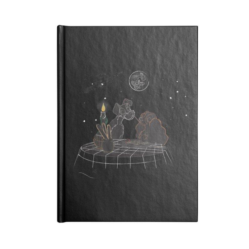 Spaghetti For Two Accessories Notebook by LLUMA Design