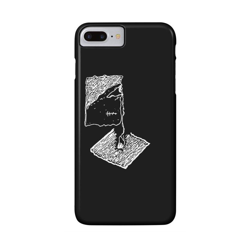 Dropped eyeball Accessories Phone Case by Lolu's Artist Shop