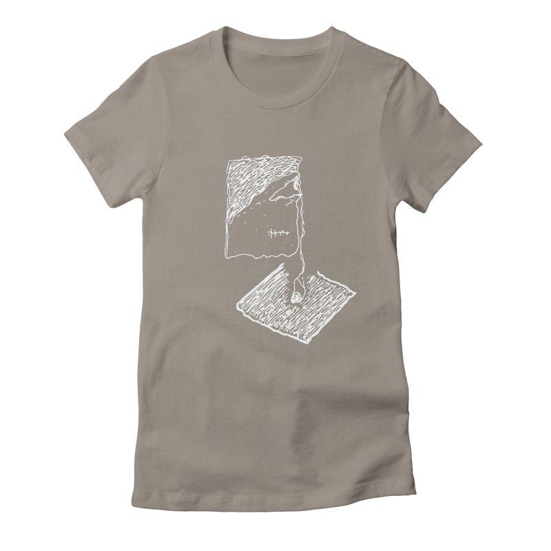 Dropped eyeball Women's T-Shirt by Lolu's Artist Shop