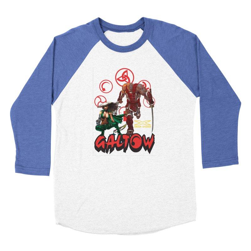 Galtow Women's Baseball Triblend Longsleeve T-Shirt by Lockett Down's Artist Shop