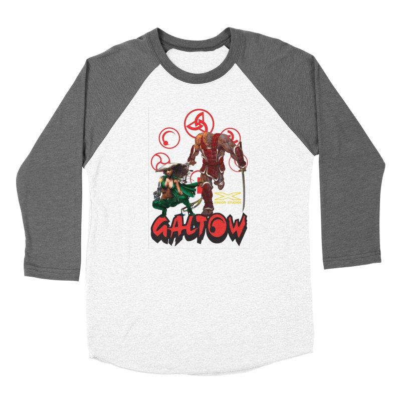 Galtow Men's Baseball Triblend Longsleeve T-Shirt by Lockett Down's Artist Shop