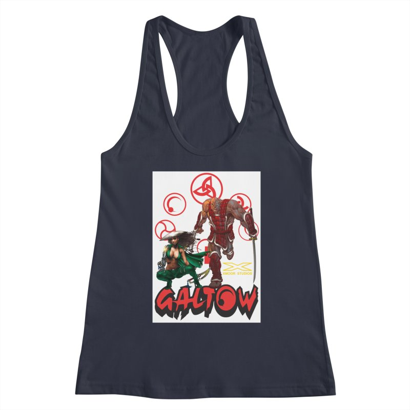 Galtow Women's Racerback Tank by Lockett Down's Artist Shop