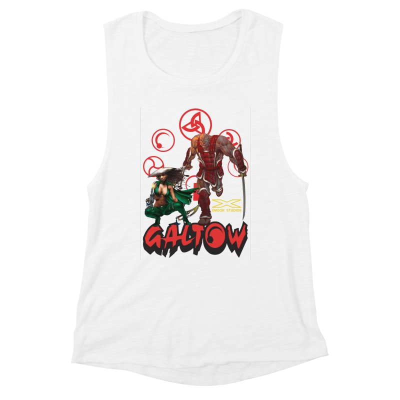 Galtow Women's Muscle Tank by Lockett Down's Artist Shop