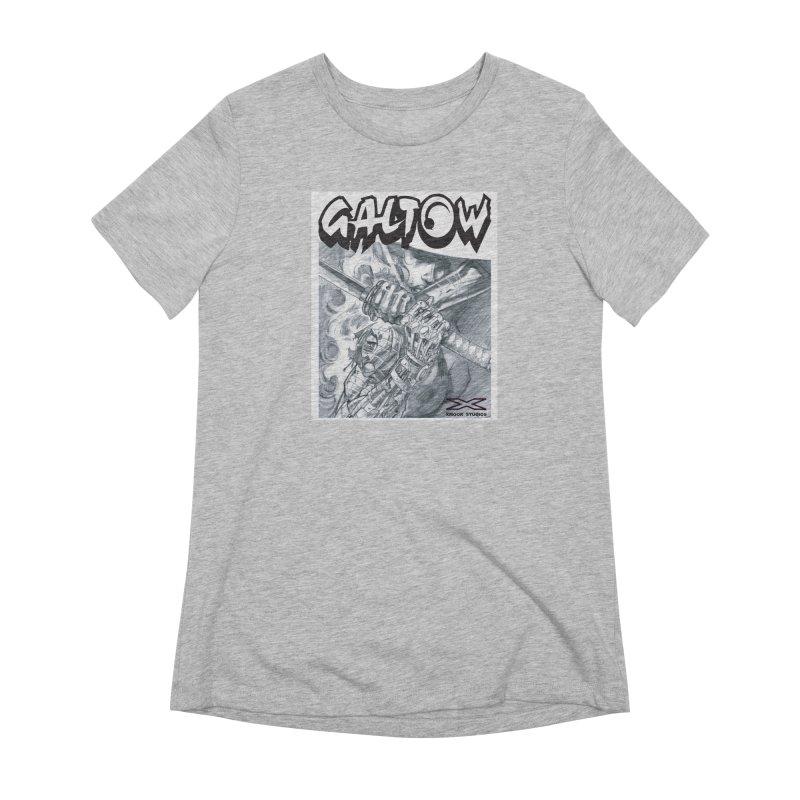 Jiya Women's Extra Soft T-Shirt by Lockett Down's Artist Shop