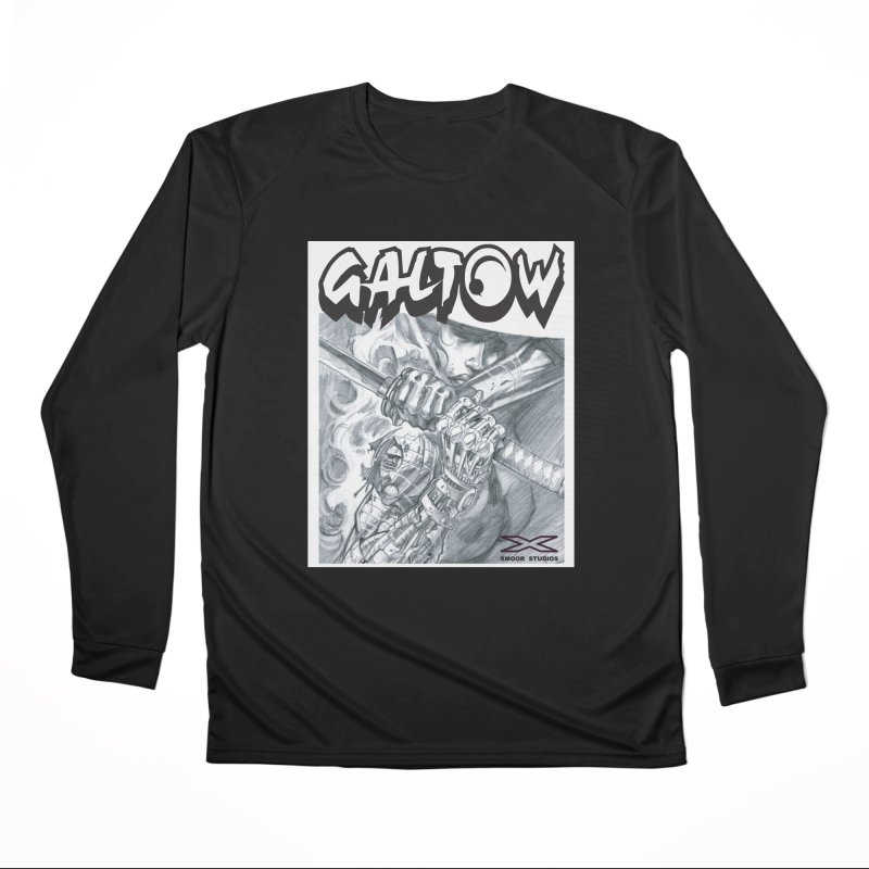 Jiya Men's Performance Longsleeve T-Shirt by Lockett Down's Artist Shop