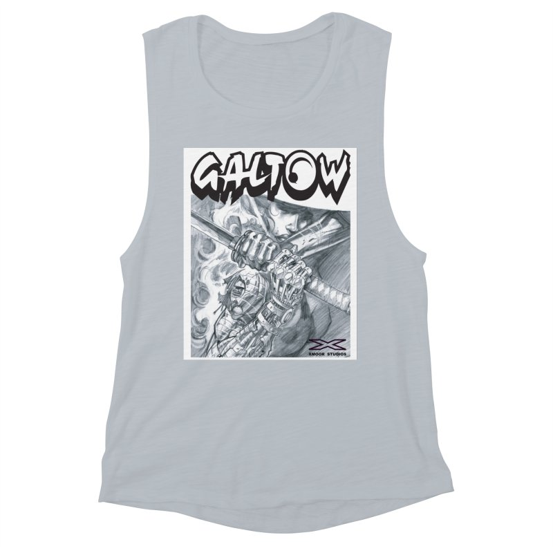 Jiya Women's Muscle Tank by Lockett Down's Artist Shop