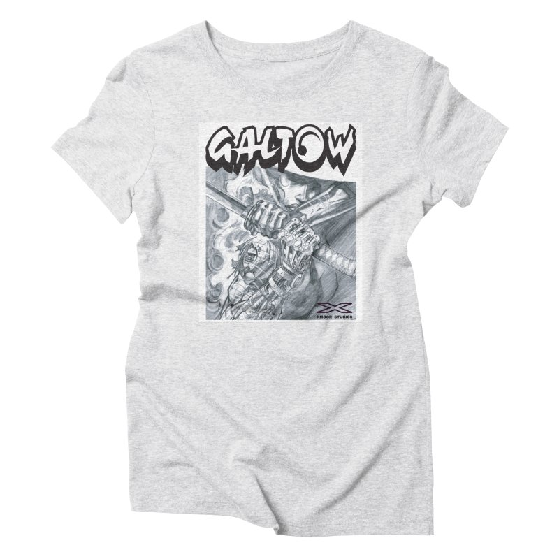 Jiya Women's Triblend T-Shirt by Lockett Down's Artist Shop