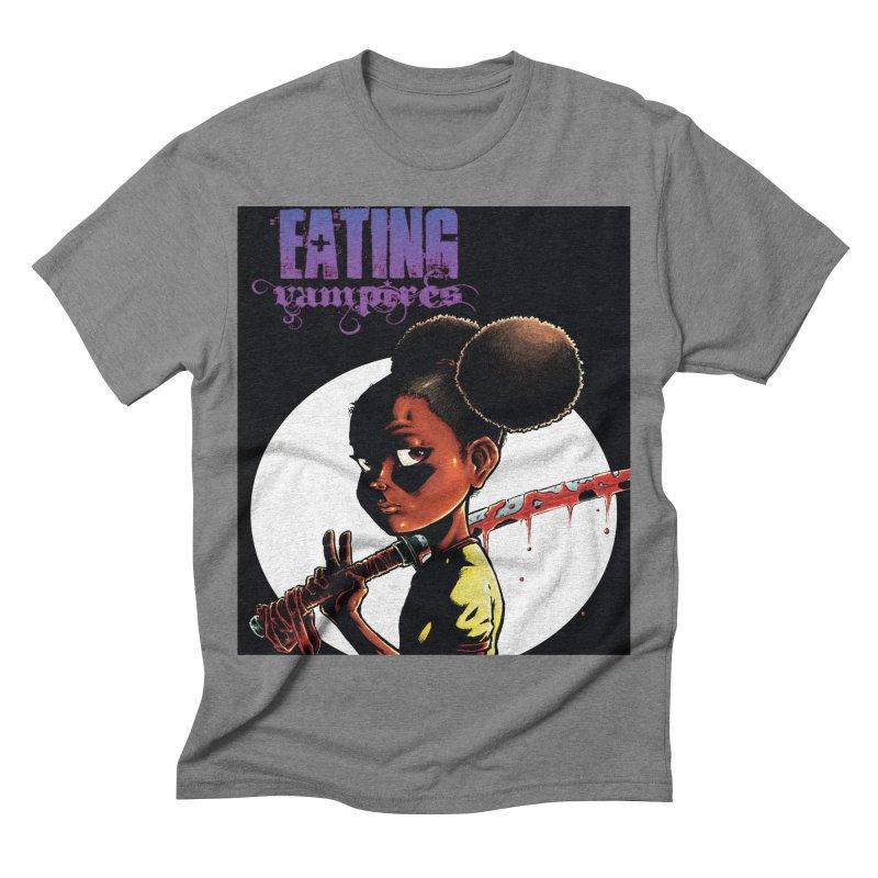 EV Peace Men's Triblend T-shirt by Lockett Down's Artist Shop