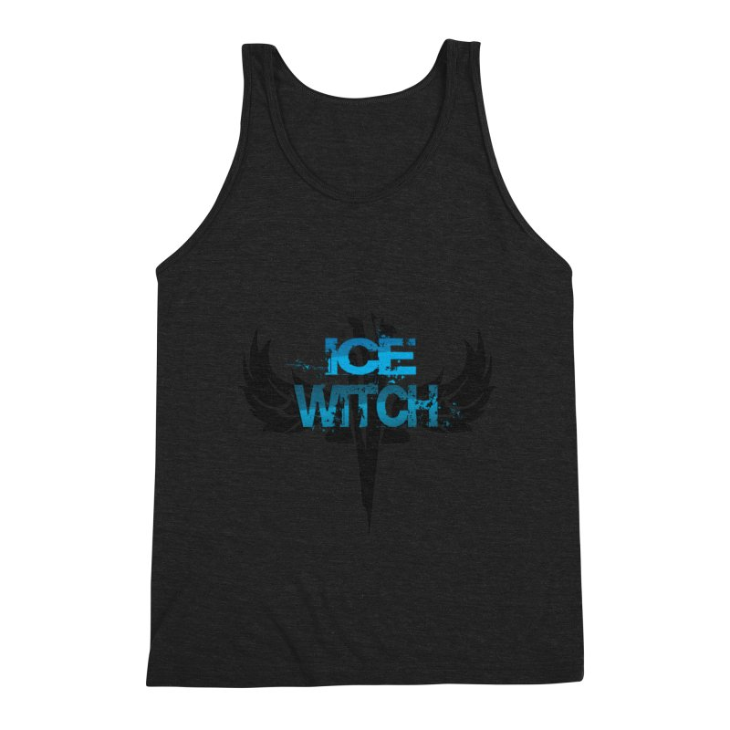 Ice Witch Tattoo Men's Tank by Lockett Down's Artist Shop