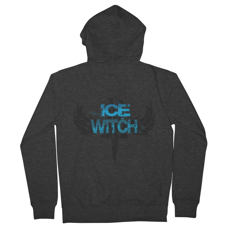 Ice Witch Tattoo Women's Zip-Up Hoody by Lockett Down's Artist Shop