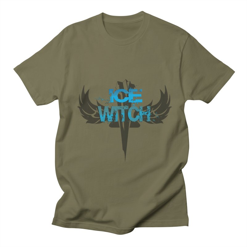 Ice Witch Tattoo Men's T-Shirt by Lockett Down's Artist Shop