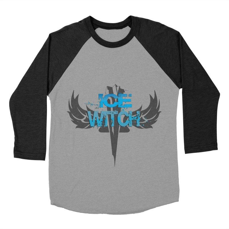 Ice Witch Tattoo Men's Baseball Triblend T-Shirt by Lockett Down's Artist Shop