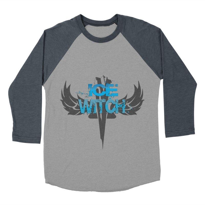 Ice Witch Tattoo Men's Baseball Triblend Longsleeve T-Shirt by Lockett Down's Artist Shop