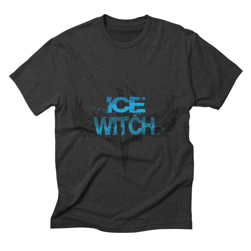 Ice Witch Tattoo Men's Triblend T-shirt by Lockett Down's Artist Shop