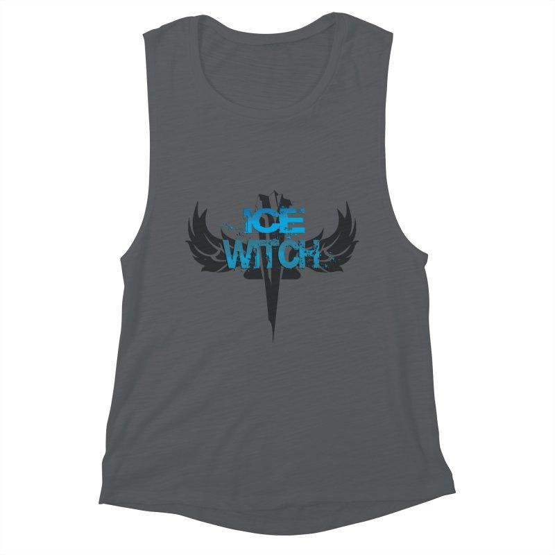 Ice Witch Tattoo Women's Tank by Lockett Down's Artist Shop