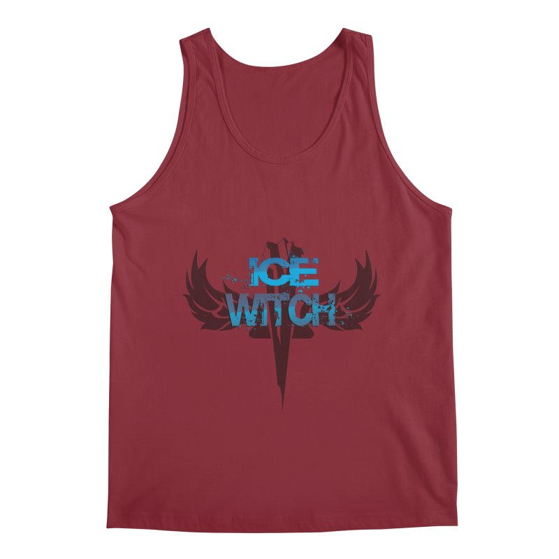 Ice Witch Tattoo Men's Regular Tank by Lockett Down's Artist Shop