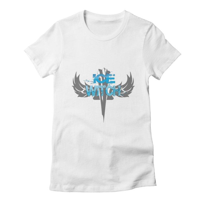 Ice Witch Tattoo Women's T-Shirt by Lockett Down's Artist Shop