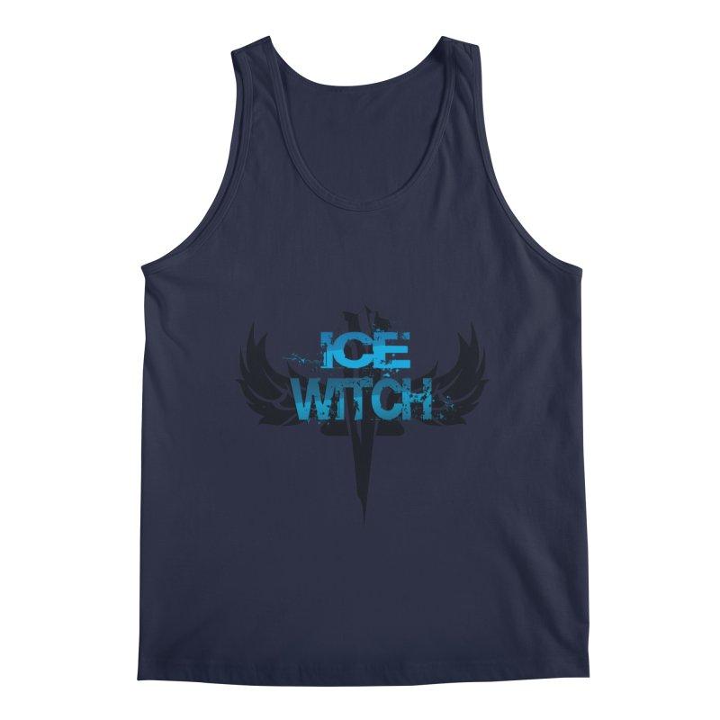 Ice Witch Tattoo Men's Regular Tank by Lockett Down's Artist Shop