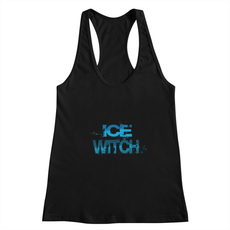 Ice Witch Tattoo Women's Racerback Tank by Lockett Down's Artist Shop