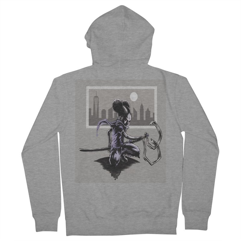 EV City Women's Zip-Up Hoody by Lockett Down's Artist Shop