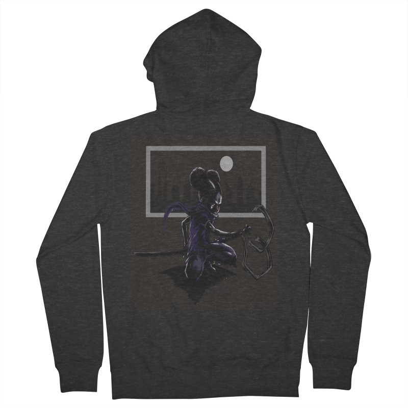 EV City Men's Zip-Up Hoody by Lockett Down's Artist Shop