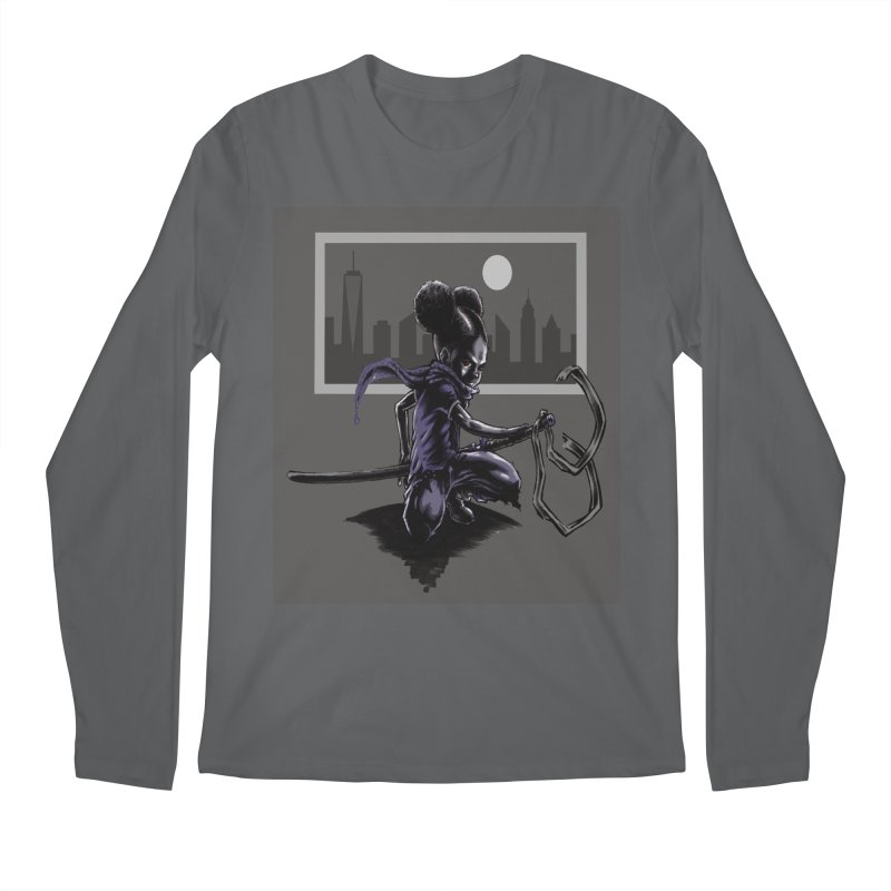 EV City Men's Longsleeve T-Shirt by Lockett Down's Artist Shop