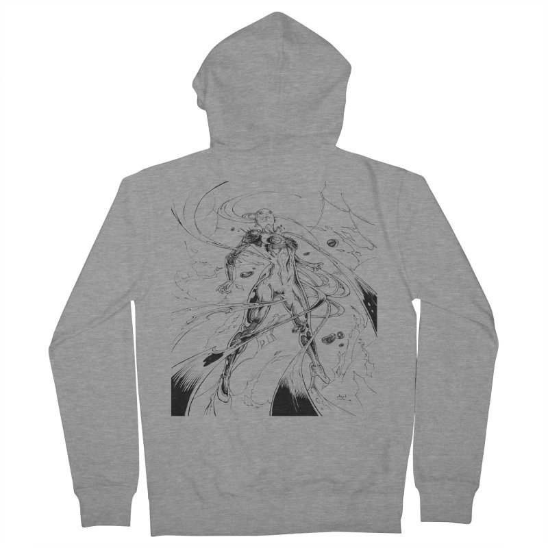 Suiting Up Women's Zip-Up Hoody by Lockett Down's Artist Shop