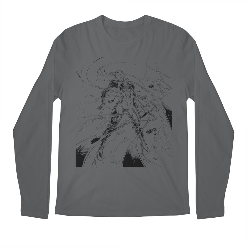Suiting Up Men's Longsleeve T-Shirt by Lockett Down's Artist Shop