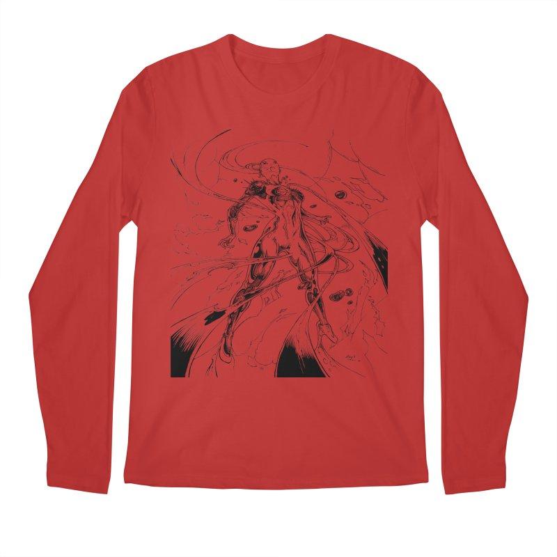 Suiting Up Men's Regular Longsleeve T-Shirt by Lockett Down's Artist Shop
