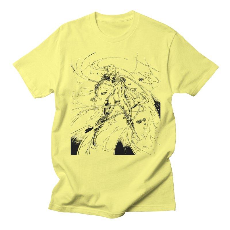 Suiting Up Men's Regular T-Shirt by Lockett Down's Artist Shop