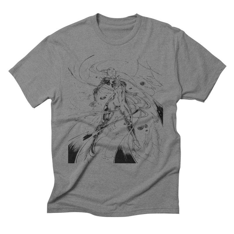 Suiting Up Men's Triblend T-Shirt by Lockett Down's Artist Shop