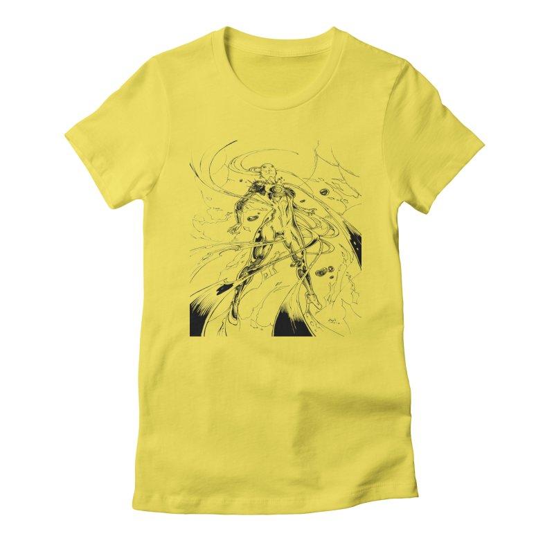 Suiting Up Women's T-Shirt by Lockett Down's Artist Shop