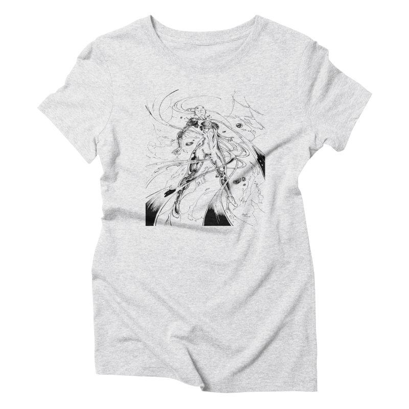 Suiting Up Women's Triblend T-Shirt by Lockett Down's Artist Shop