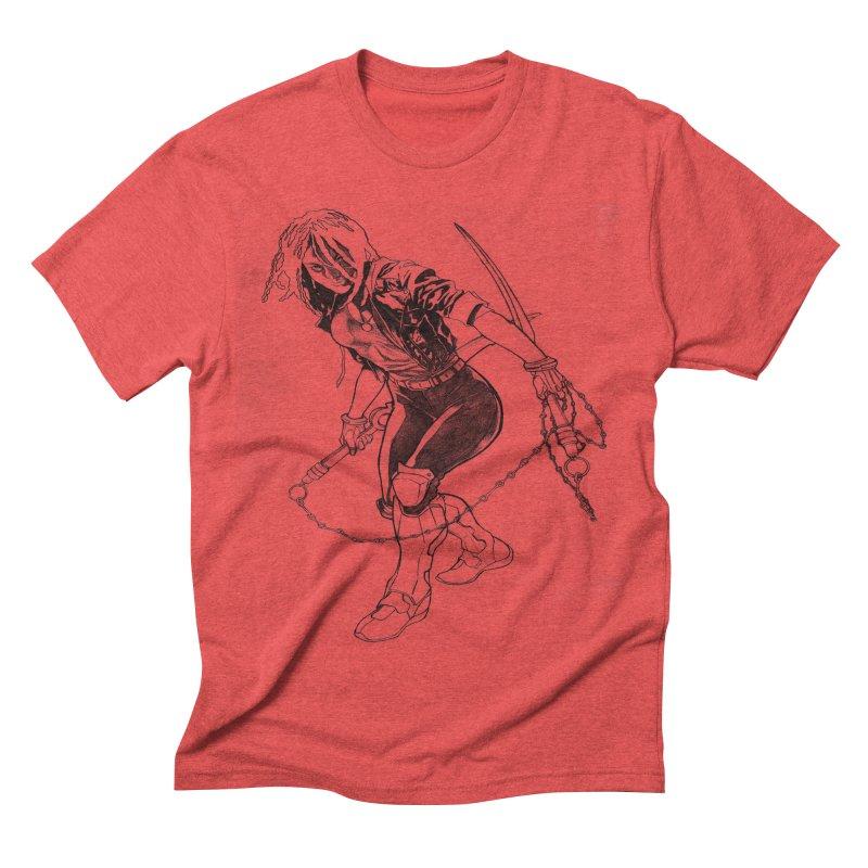 Chenoa  Men's Triblend T-shirt by Lockett Down's Artist Shop