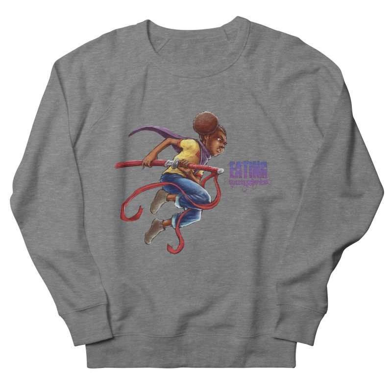 Spring to Action Men's French Terry Sweatshirt by Lockett Down's Artist Shop