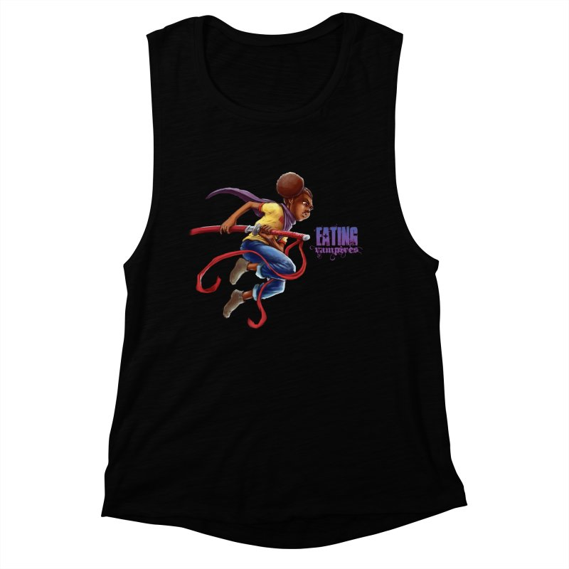 Spring to Action Women's Muscle Tank by Lockett Down's Artist Shop