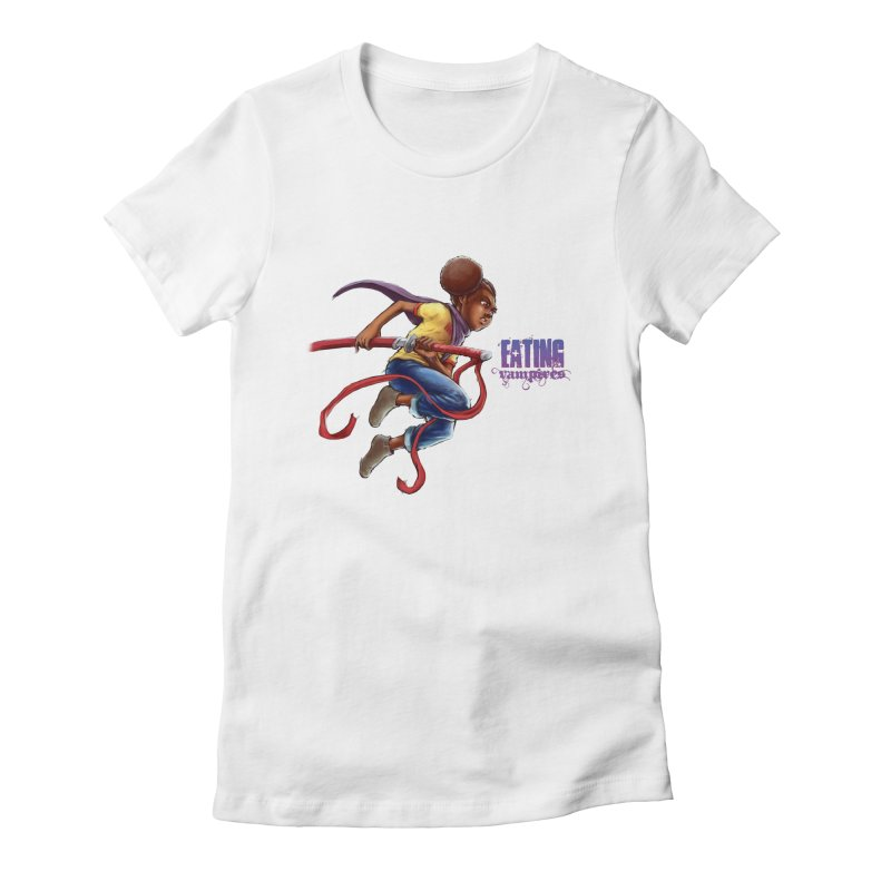 Spring to Action Women's Fitted T-Shirt by Lockett Down's Artist Shop